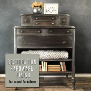 restoration hardware finish tutorial